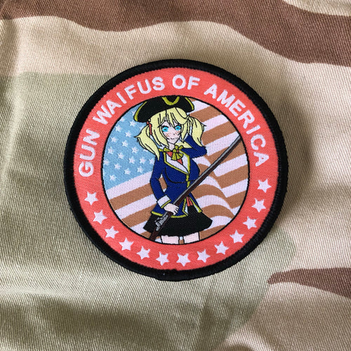Gun Waifus of America Patch