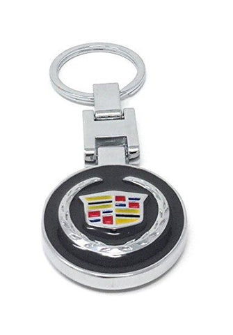CWW-010AP-CADILLAC KEY CHAIN BOTH SIDED SAME DESIGN