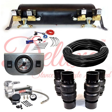1958-1960 CADILLAC DEVILLE DELUXE EZ AIR RIDE SUSPENSION KIT AR003