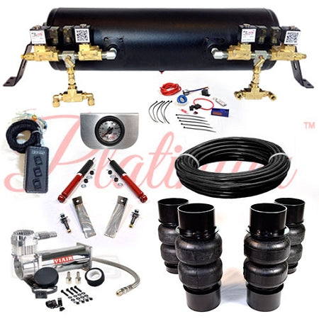 1958-1960 CADILLAC DEVILLE PLATINUM EZ AIR RIDE SUSPENSION KIT AR005