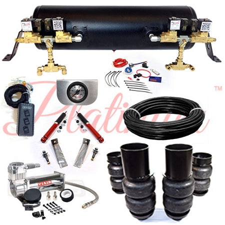 1963-1964 CADILLAC PLATINUM EZ AIR RIDE SUSPENSION KIT AR014