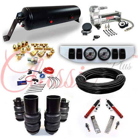 1965-1970 CADILLAC RWD CLASSIC+ EZ AIR RIDE SUSPENSION KIT AR016