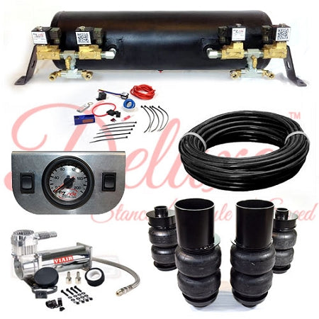 1965-1970 CADILLAC RWD DELUXE EZ AIR RIDE SUSPENSION KIT AR018