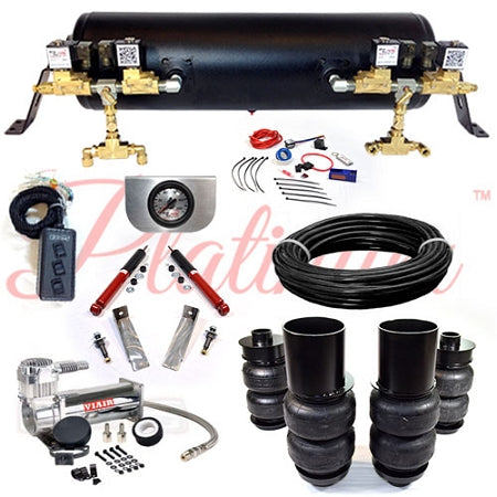 1965-1970 CADILLAC RWD PLATINUM EZ AIR RIDE SUSPENSION KIT AR020