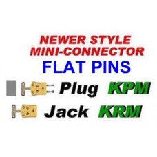 NEWER STYLE MINI CONNECTOR FLAT PINS CWW-CPT104