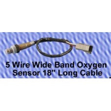"CWW-CPT153- 5 WIRE WIDE BAND OXYGEN SENSOR 18"" LONG CABLE"