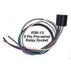 12-5 PIN PRE-WIRED RELAY SOCKET CWW-CPT037