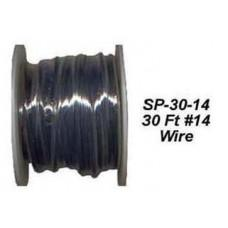 30 FT SPOOL 14# GUAGE BLACK PRIMARY WIRE CWW-CPT033