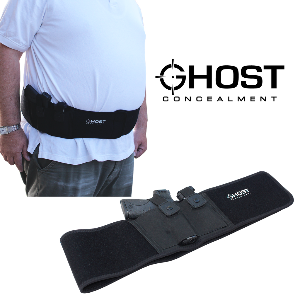 Ghost Concealment L Belly Band Holster for Concealed Carry