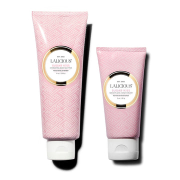 BODY BUTTER AND HAND CREAM DUO (SUGAR KISS) - SkinGlow Shop -  Skin Care Vancouver, Skin Care Canada