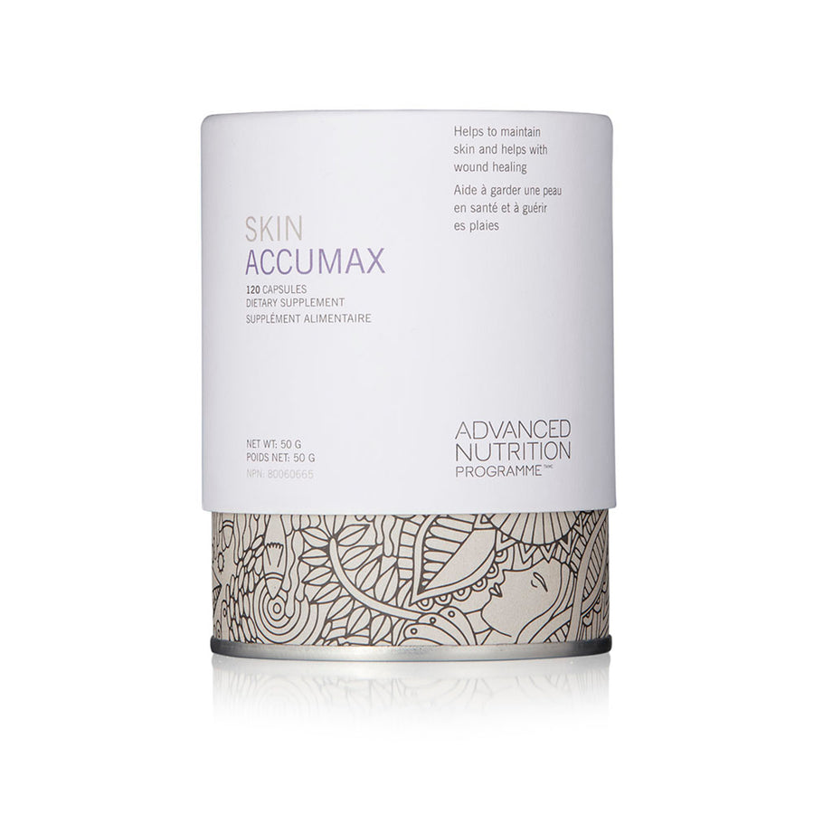 SKIN ACCUMAX (120 CAPS) - SkinGlow Shop -  Skin Care Vancouver, Skin Care Canada