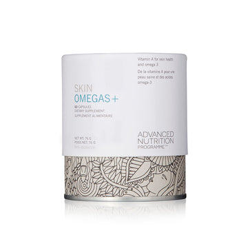 SKIN OMEGAS+ (60 CAPS) - SkinGlow Shop -  Skin Care Vancouver, Skin Care Canada