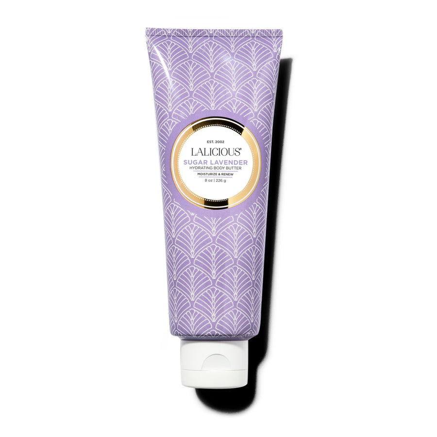 SUGAR LAVENDER HYDRATING BODY BUTTER - SkinGlow Shop -  Skin Care Vancouver, Skin Care Canada