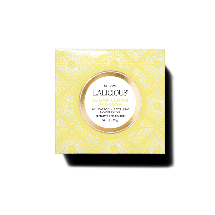 SUGAR LEMON BLOSSOM WHIPPED SUGAR SCRUB - SkinGlow Shop -  Skin Care Vancouver, Skin Care Canada