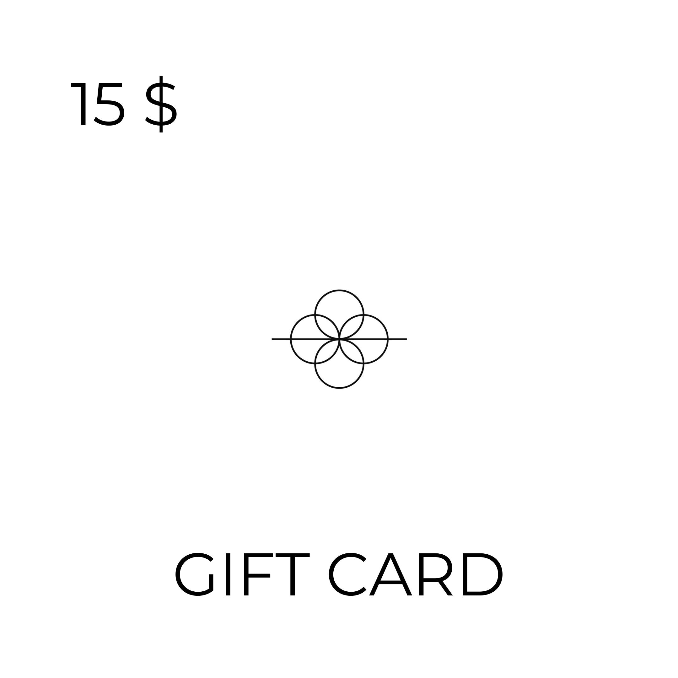 >>> CHOOSE YOUR GIFT CARD HERE ($15, $25, $50, $100) <<<
