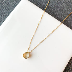 MINIMA - Gota small - necklace (more options available)