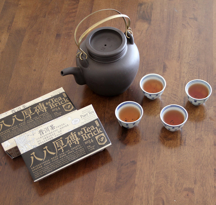 大壶泡饮法 Big teapot brewing method