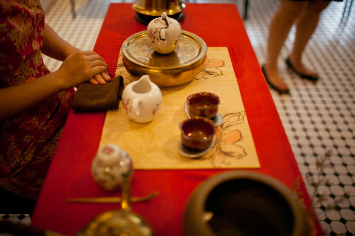 "人間美味,芳香響宴""心""茶席 Putting your thought into a festive tea presentation setting"