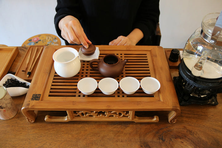 讓每一樣茶具在茶席上有個家  Let's assign a location to each piece of the tea utensil on the tea table