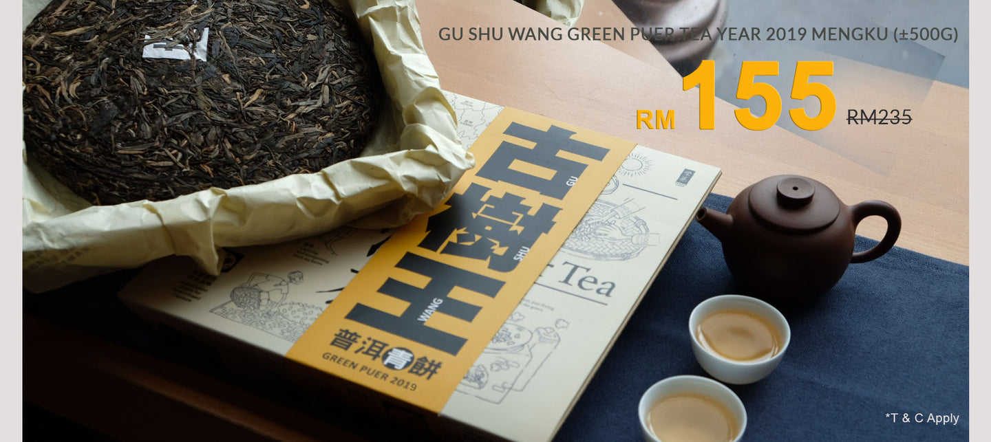 Green Puer Tea Year 2019 | Gu Shu Wang