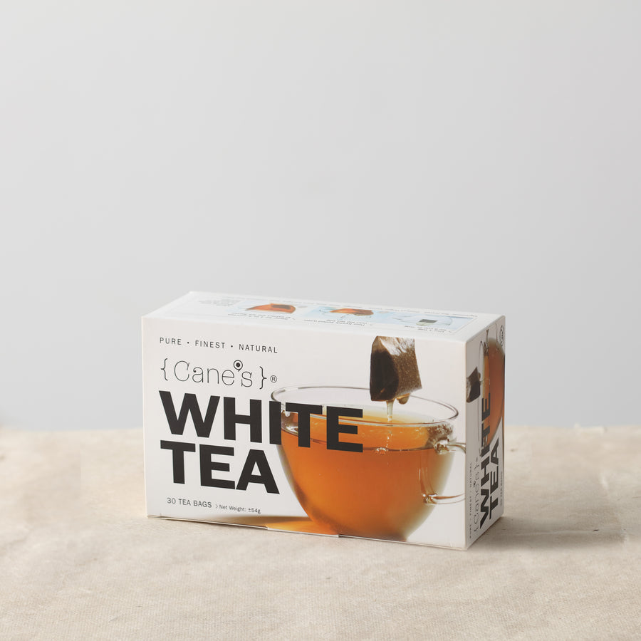 Cane's White Tea (30 Teabags)