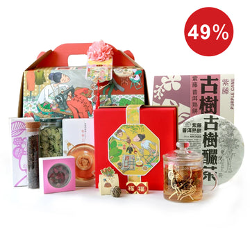 Rising Prosperity CNY Tea Treasure Hamper Box