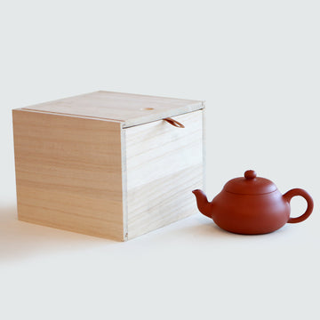 Purple Cane House Brand - Red Clay Pear Shape Teapot (220ml)