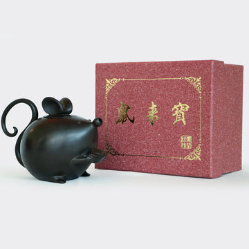 Ingots Mouse Black Teapot (270ml)