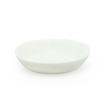 Jade White Round Tea Tray (15.2cm)
