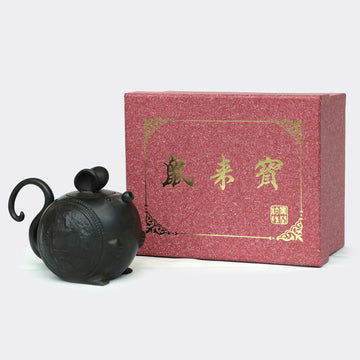 Black Treasure Mouse Teapot (200ml)