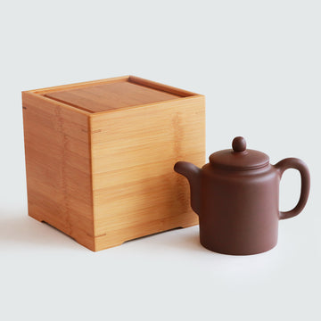 Purple Cane House Brand - Purple Clay Columnar Teapot (500cc)