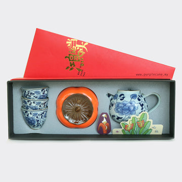 Lucky Fortune CNY Teapot Gift Set (220ml)