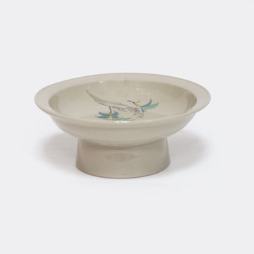 Osmanthus Ash Glaze Porcelain Tea Tray
