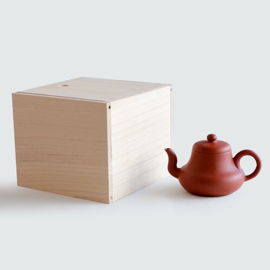 Purple Cane House Brand - Red Clay Si Ting Teapot (250ml)