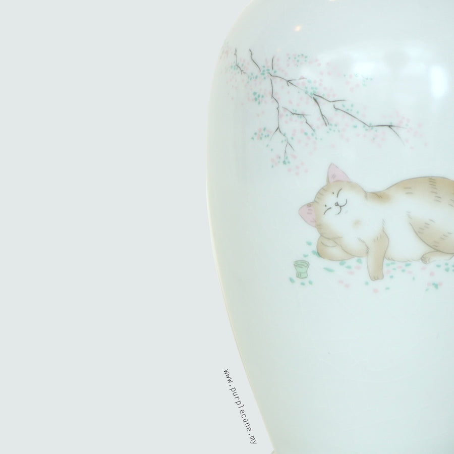 Kitty Ru Kiln Porcelain Tea Canister