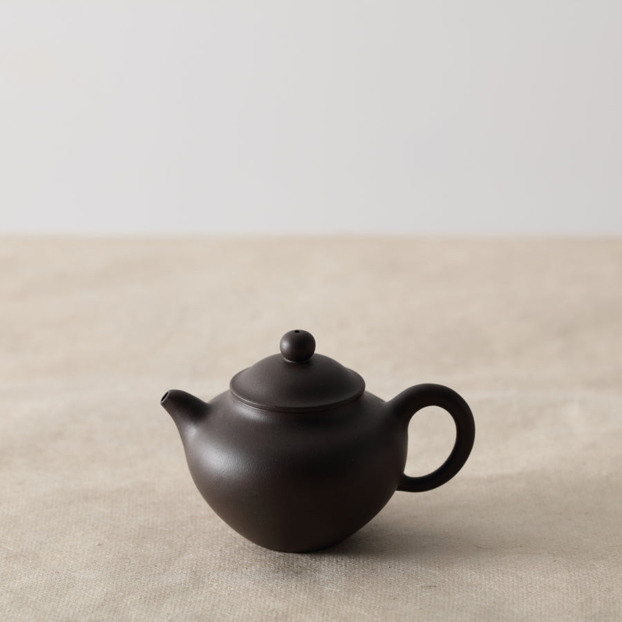 Tall Duo Zhi Purple Clay Teapot