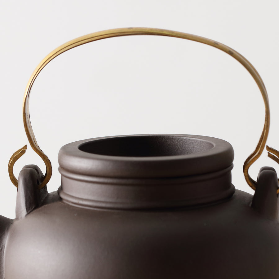 Purple Cane House Brand - Black Clay Shou Xing Teapot (750cc)