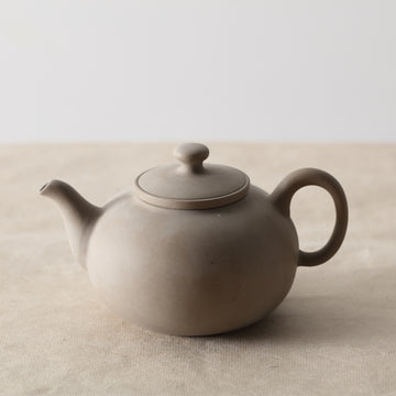 Purple Cane House Brand - Grey Ru Yi Side Handle Strainer Teapot (550cc)