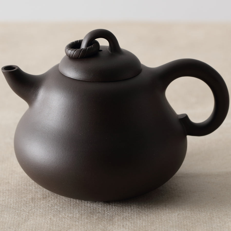 Purple Cane House Brand - Purple Clay Gourd Teapot
