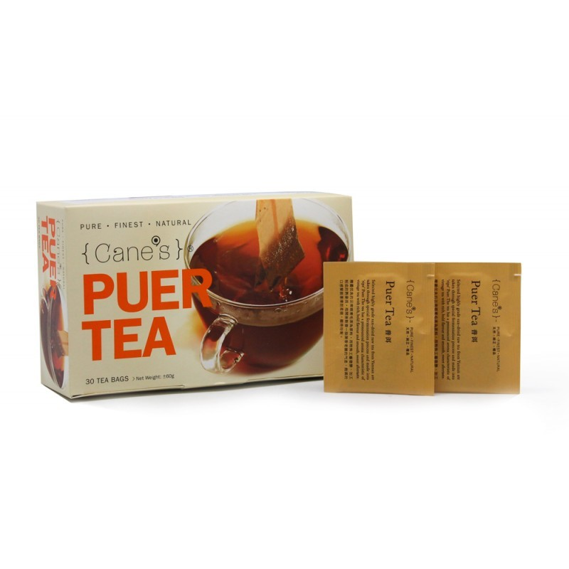 Cane's Puer Tea E-Offer Value Pack (30 Teabags/ 5 Boxes)