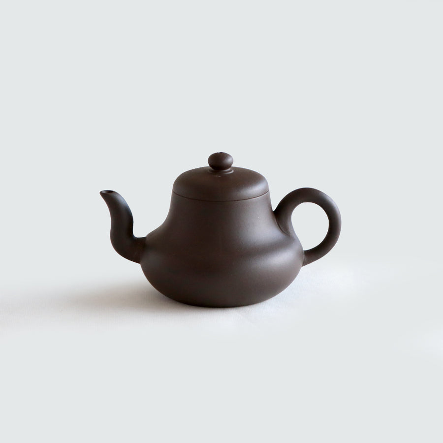 Purple Cane House Brand - Black Clay Si Ting Teapot (270ml)