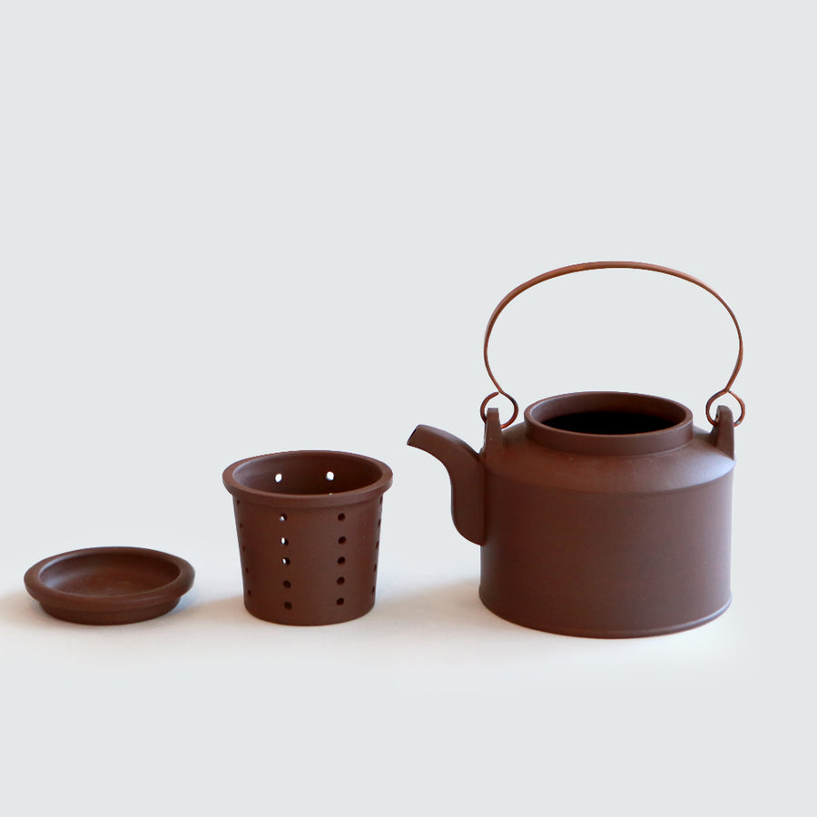 Purple Cane House Brand - Pin Zi Copper Handle Teapot (530ml)