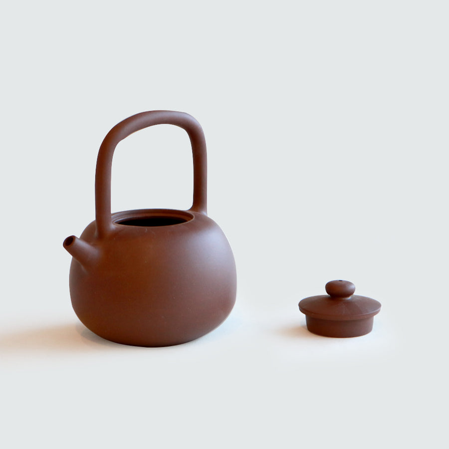 Purple Cane House Brand - Pin Zi Top Handle Teapot (420ml)