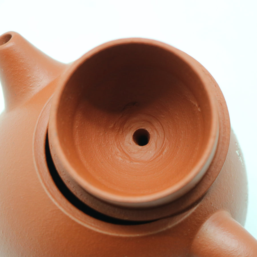 Tri footed Water Drop Chaozhou Hong Ni Clay Teapot by Wu Rui Quan (180CC)