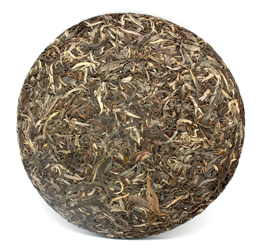 Gu Shu Wang Green Puer Tea Year 2011 Mengku (±500g)