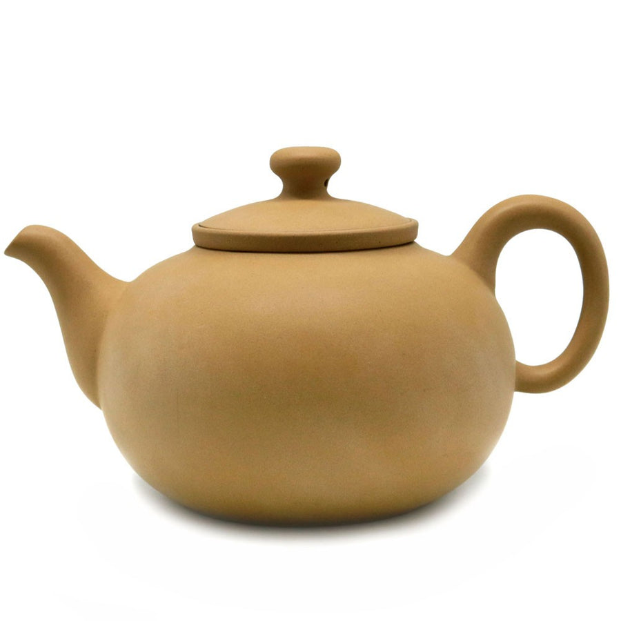 Purple Cane House Brand - Yellow Ru Yi Side Handle Strainer Teapot (550cc)