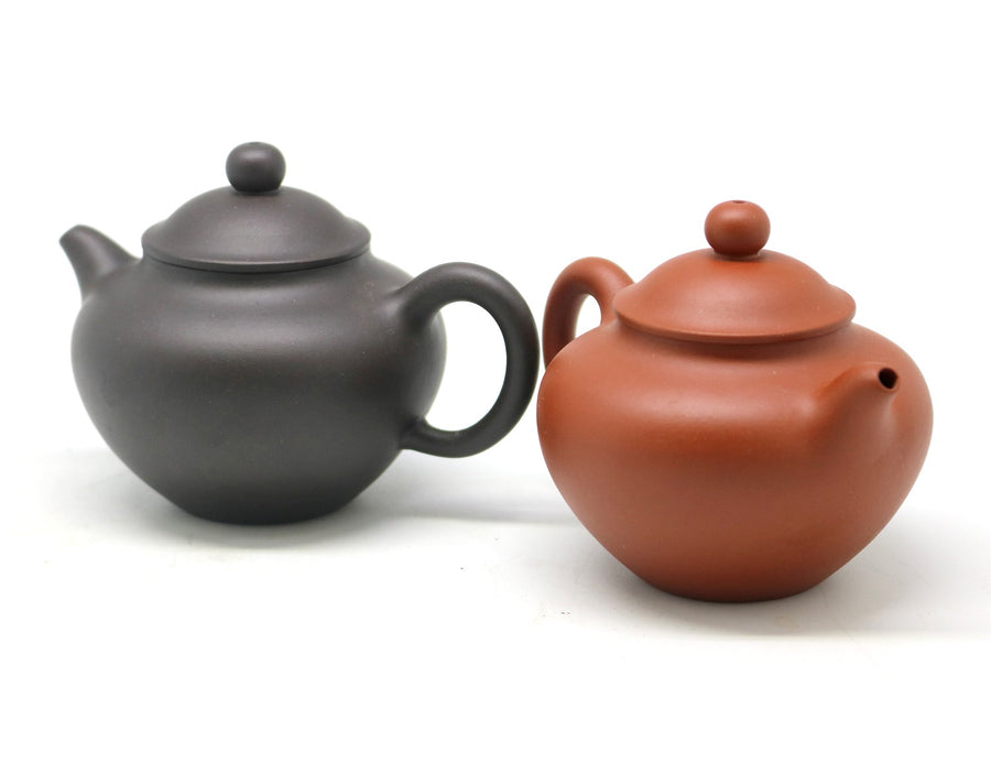 High Duo Zhi Purple Clay Teapot
