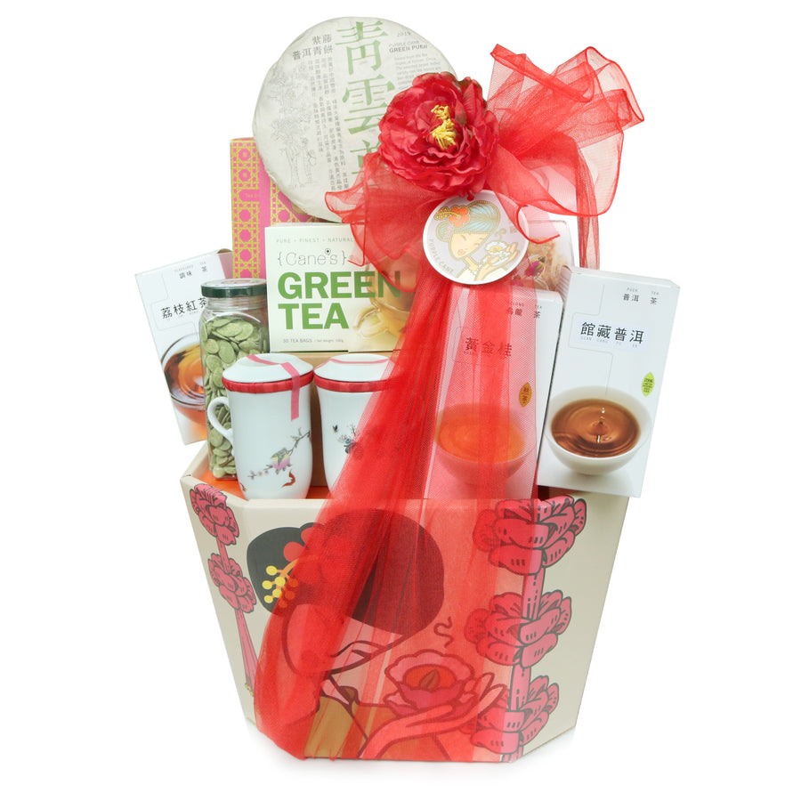 Blissful Pleasure Tea Hamper