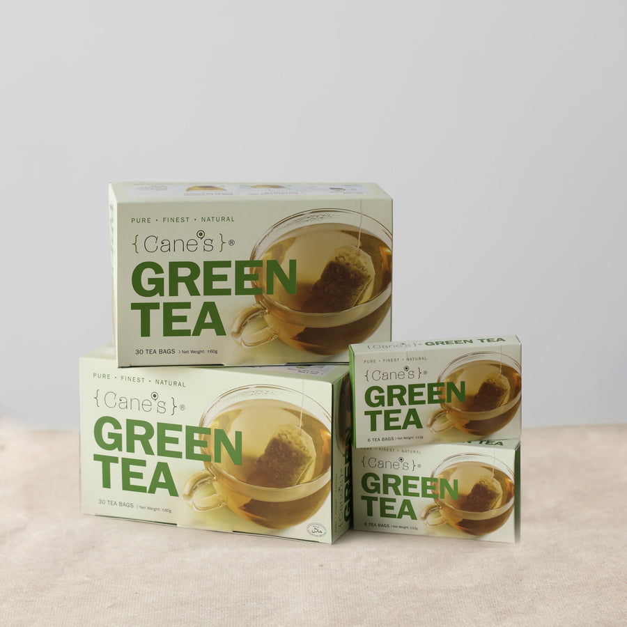 Cane's Green Tea Buy 2 Free Tea (72 Teabags)