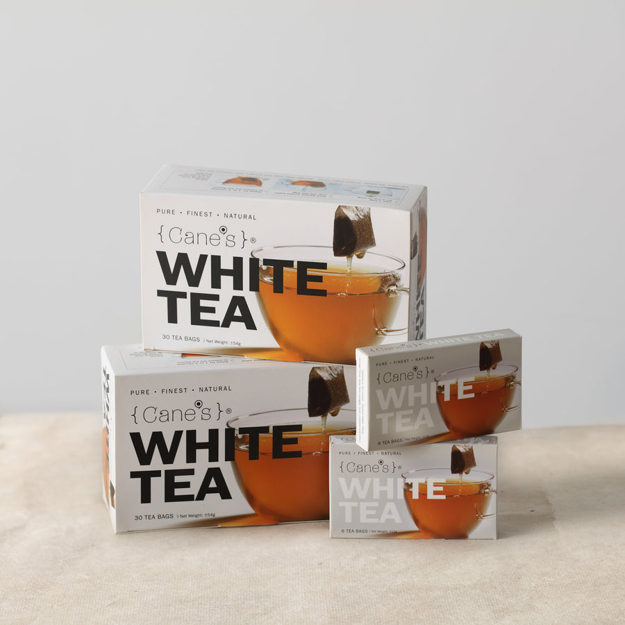 Cane's White Tea Buy 2 Free Tea (72 Teabags)